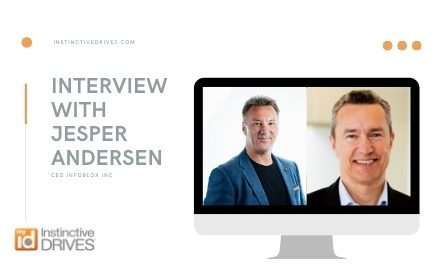 An interview with Jesper Andersen, CEO Infoblox Inc