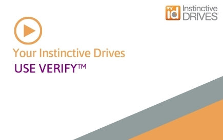 Your Instinctive Drives® – Use Verify